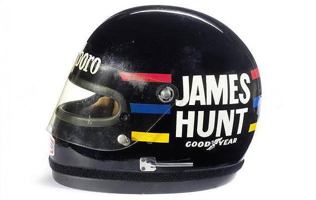 TopGear.com.ph Philippine Car News - James Hunt's race helmet, Daniel Bruhl's 'Niki Lauda' costu