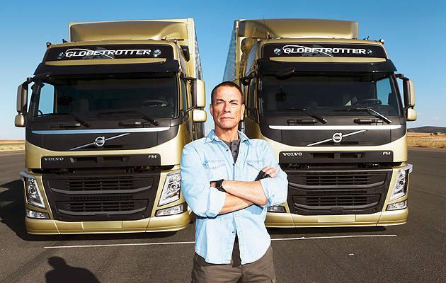 TopGear.com.ph Philippine Car News - Jean-Claude Van Damme does leg split between two moving Volvo trucks