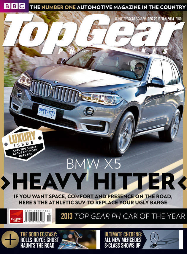 Top Gear Philippines' December 2013 issue
