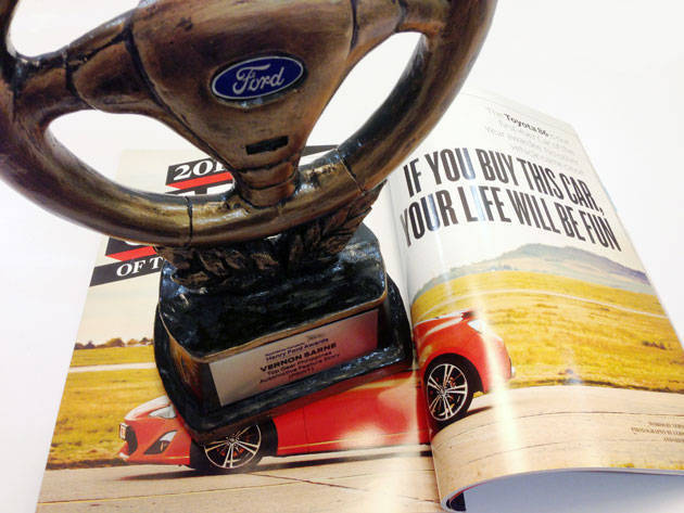 2013 Henry Ford Award for Best Automotive Feature Story