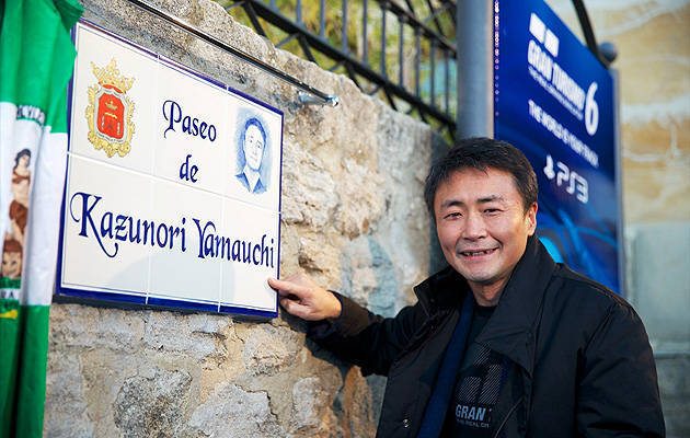 TopGear.com.ph Philippine Car News - Gran Turismo creator gets street named after him