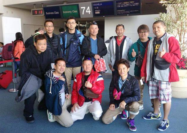 Keiichi Tsuchiya and his crew