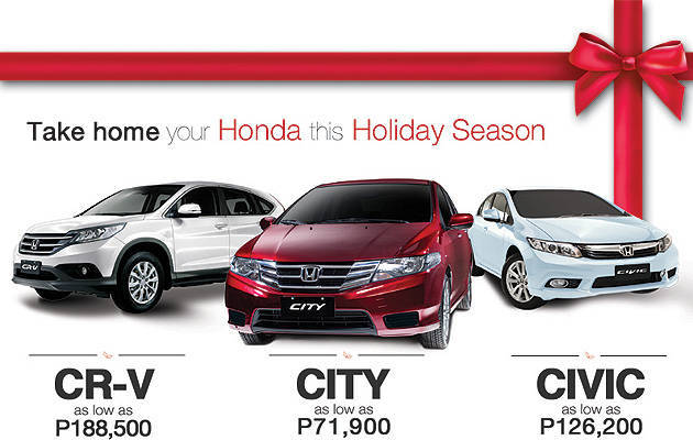 TopGear.com.ph Philippine Car News - Honda wants you to have a happy holiday