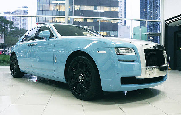 TopGear.com.ph Philippine Car News - One of 35 limited edition Rolls-Royce Ghost now locally available