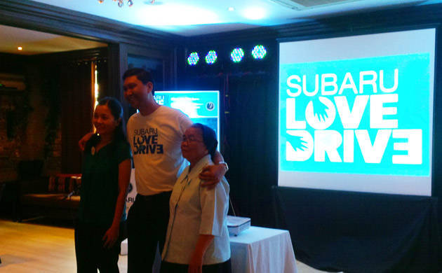 Motor Image Pilipinas launches corporate social responsibility campaign called 'Subaru Love Drive'