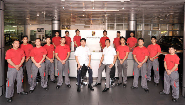 Porsche Training and Recruitment Center Asia celebrates five years of preparing scholars for employment