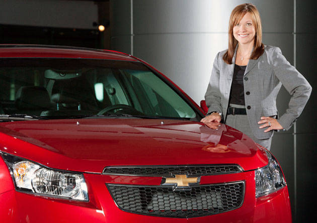 New General Motors CEO Mary Barra