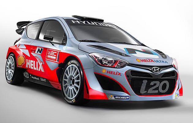 TopGear.com.ph Philippine Car News - Hyundai reveals driver lineup, i20 WRC livery for 2014 season