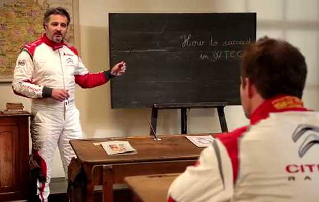 TopGear.com.ph Philippine Car News - Yvan Muller schools Sebastien Loeb--literally