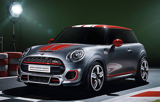 TopGear.com.ph Philippine Car News - Mini shows off John Cooper Works Concept