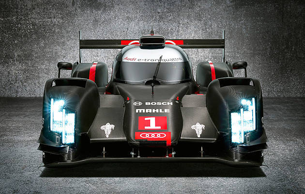 TopGear.com.ph Philippine Car News - Audi's 2014 Le Mans race car to be equipped with laser lighting technology