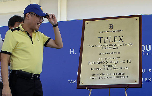TopGear.com.ph Philippine Car News - PNoy inaugurates Tarlac City-Gerona-Paniqui section of TPLEX