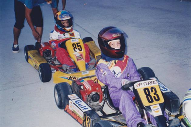 Michele Bumgarner: Subic Le Mans Kart Track (1995)
