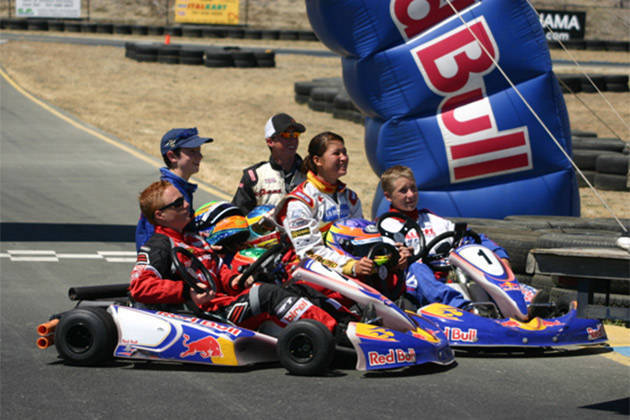Michele Bumgarner: One of the five winners of the Red Bull Young Driver Search in Sonoma, CA (2005)