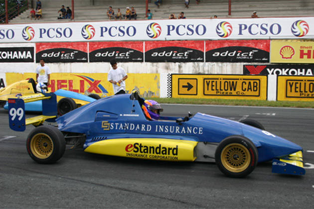 Michele Bumgarner: Formula Toyota at BRC (2004)