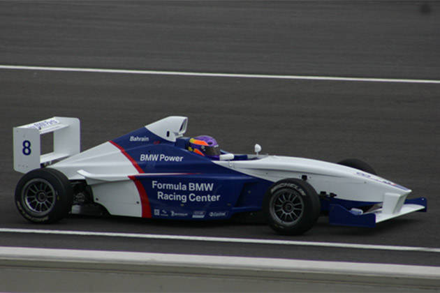 Michele Bumgarner: Winner of the Formula BMW Scholarship in Bahrain (2005)