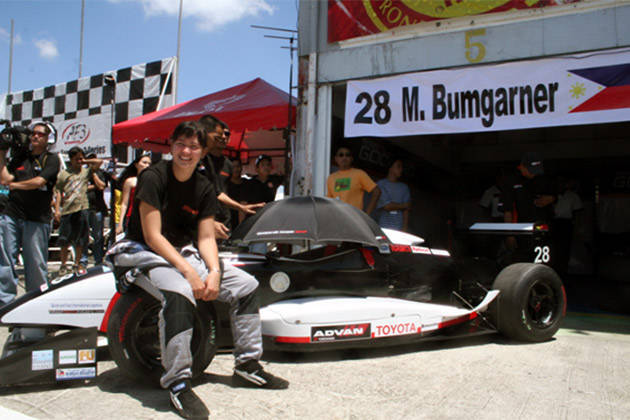 Michele Bumgarner: First Asian Formula 3 race at BRC (2006)