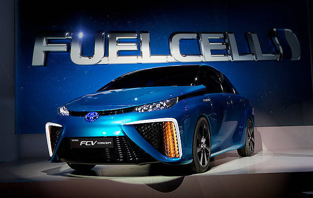 TopGear.com.ph Philippine Car News - Toyota claims its FCV hydrogen car can power a house for a week