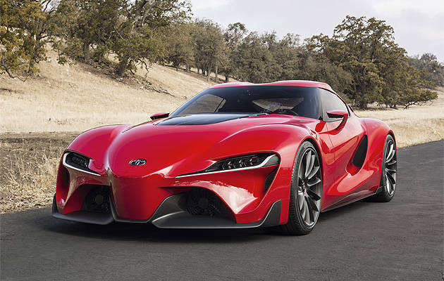 NAIAS 2014: Toyota Shows Off Design Of Its Future Sports Car With FT 1  Concept