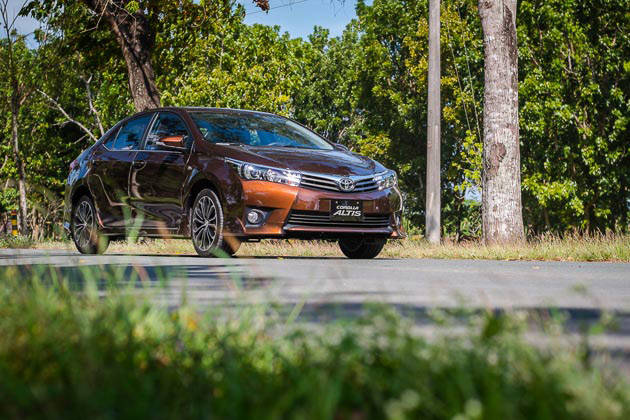 The 2014 Toyota Corolla Altis launched in the Philippines