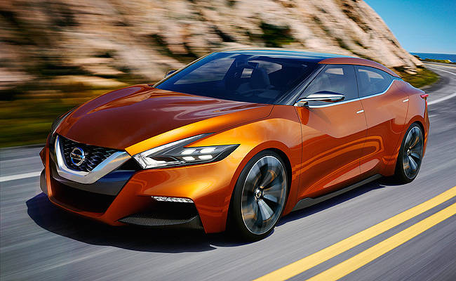 TopGear.com.ph Philippine Car News - NAIAS 2014: Nissan's Sport Sedan Concept hints at future design elements