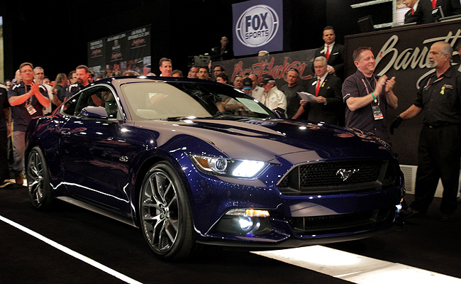 TopGear.com.ph Philippine Car News - First retail-production all-new Ford Mustang unit fetches $300,