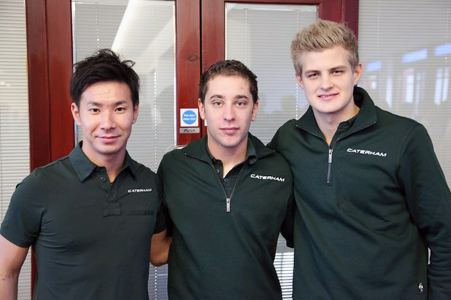 Caterham F1 2014 driver lineup