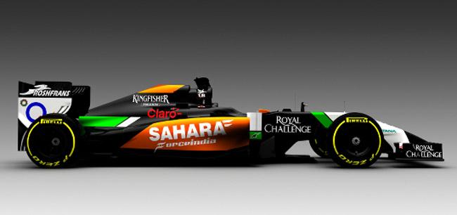 2014 Force India Formula 1 car