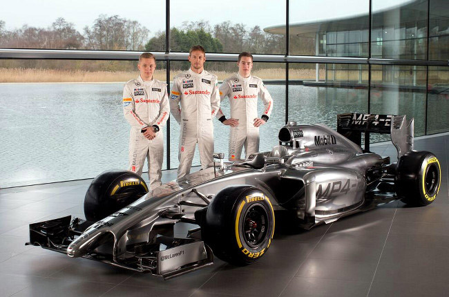 2014 Formula 1 car: McLaren's MP4-29 breaks cover