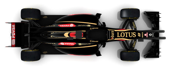 Lotus E22 Formula 1 car