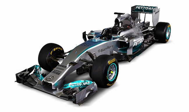 2014 Formula 1 car: The covers are off the gorgeous Mercedes F1 W05