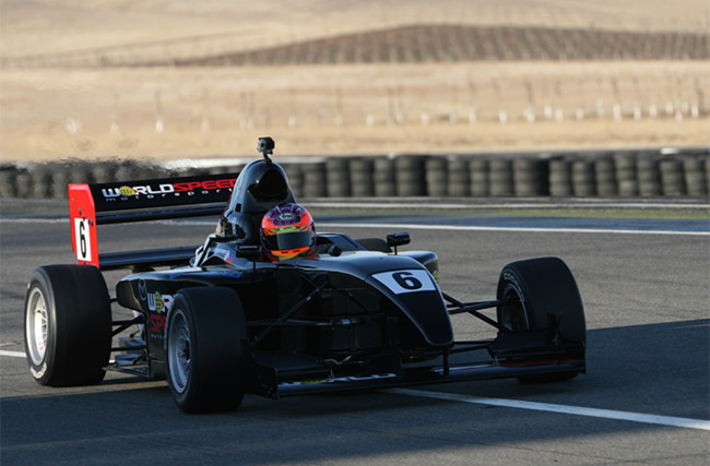 Michele Bumgarner at the Thunderhill Raceway Park