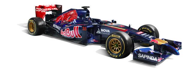 Midfield marauders: the Sauber C33 and the Toro Rosso STR9