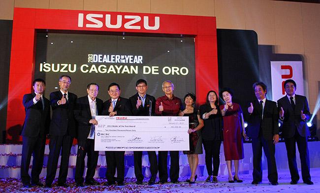 Isuzu Cagayan de Oro is 2013 Dealer of the Year