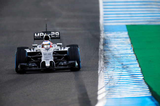 2014 Formula 1 testing: McLaren leads the way