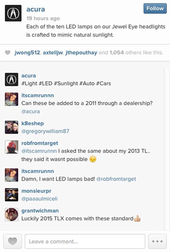 Acura on Instagram
