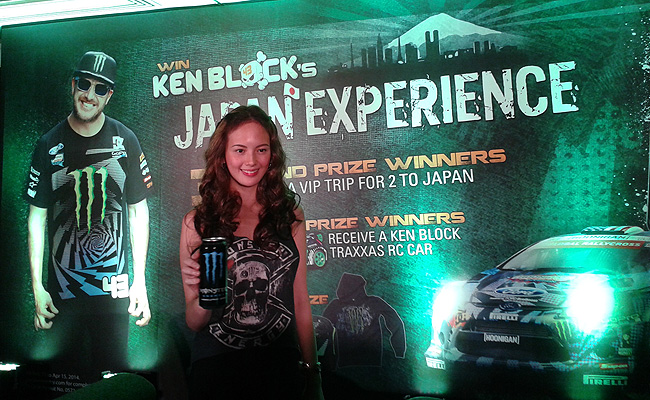 TopGear.com.ph Philippine Car News - Join Ellen Adarna at Ken Block's Japan Experience