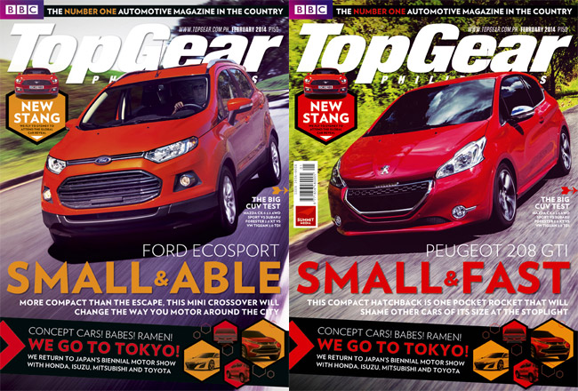 Top Gear Philippines February 2014 issue
