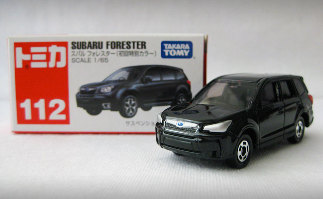 Tomica Mazda 6 and Subaru Forester are selling like hotcakes in the Philippines