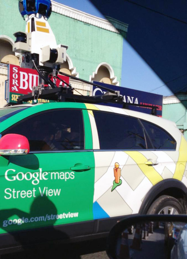 Google Philippines' Street View car