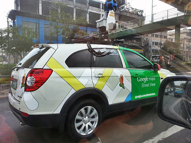 have you seen google ph 39 s street view cars driving around. Black Bedroom Furniture Sets. Home Design Ideas