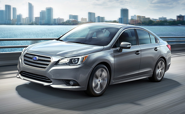 TopGear.com.ph Philippine Car News - All-new Subaru Legacy sedan makes its debut at Chicago Auto Show