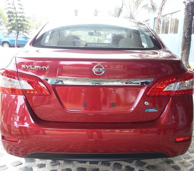 Nissan Sylphy compact sedan