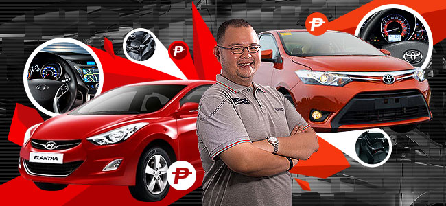 Top Gear Philippines: Toyota Vios vs. Hyundai Elantra