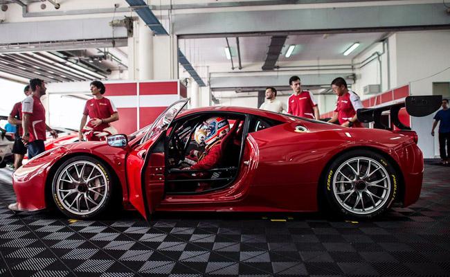 Team Autostrada Motore at 2014 Ferrari Challenge