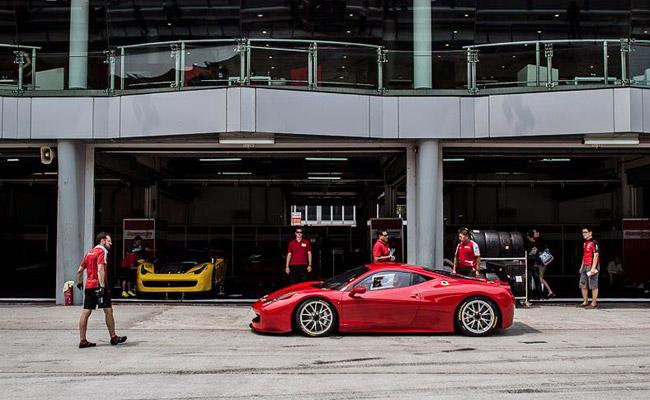 Autostrada Motore at 2014 Ferrari Challenge