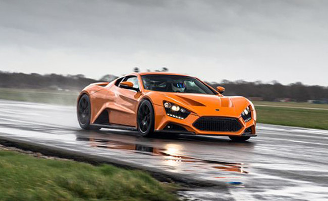 Zenvo ST1 supercar performs poorly, catches fire in Top Gear test