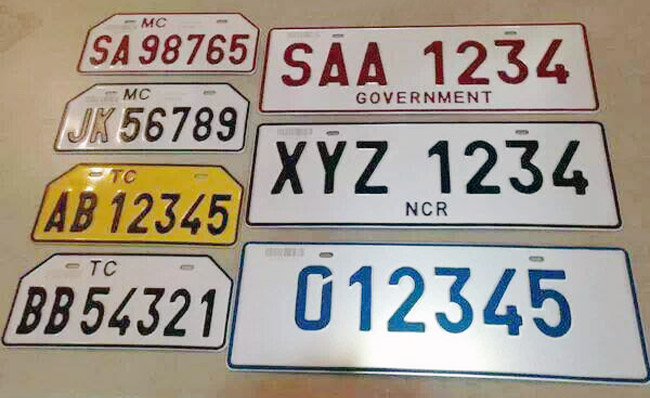 TopGear.com.ph Philippine Car News - Issuance of new standardized license plates for old cars begins today