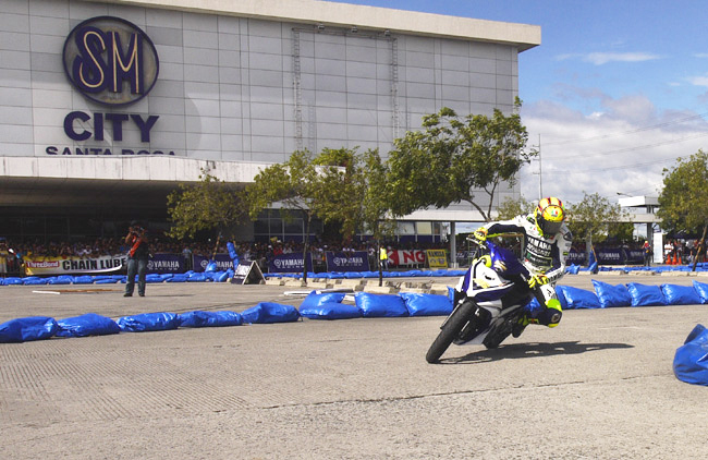 The Philippines places 'very close to the podium' in Valentino Rossi's list of favorite crowds