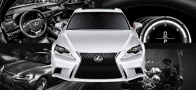 Lexus IS350 F-Sport vs. BMW 3-Series vs. Mercedes-Benz C-Class